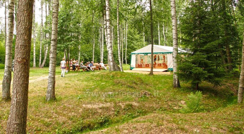 Camping Muižnieki in Latvia near the lake Usmas - 15