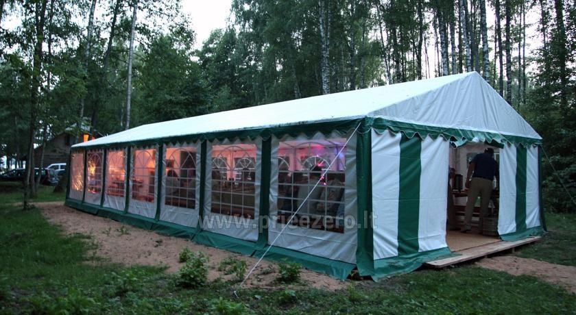 Camping Muižnieki in Latvia near the lake Usmas - 20