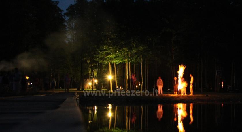 Camping Muižnieki in Latvia near the lake Usmas - 21