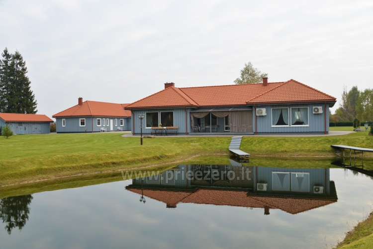Villa in Skuodas district Gervių gūžta: banquet hall, sauna, bedrooms - 18