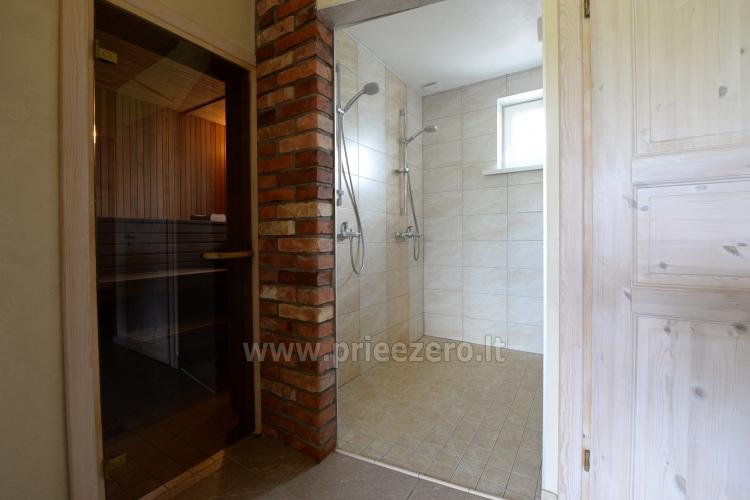Villa in Skuodas district Gervių gūžta: banquet hall, sauna, bedrooms - 33