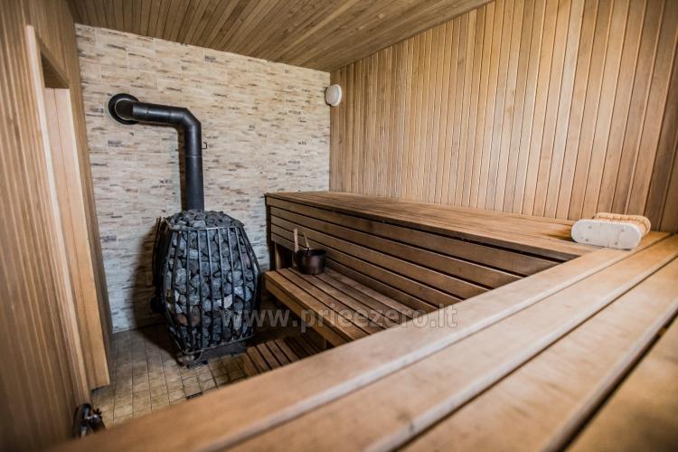 Villa in Skuodas district Gervių gūžta: banquet hall, sauna, bedrooms - 34