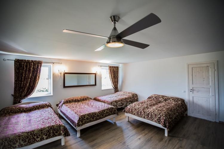 Villa in Skuodas district Gervių gūžta: banquet hall, sauna, bedrooms - 37