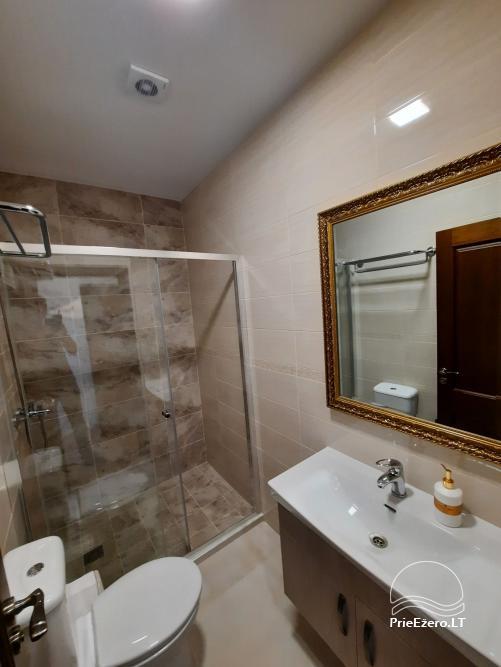 Homestead Irvita in Plunge district with banquet hall, sauna, bedrooms, huts - 6