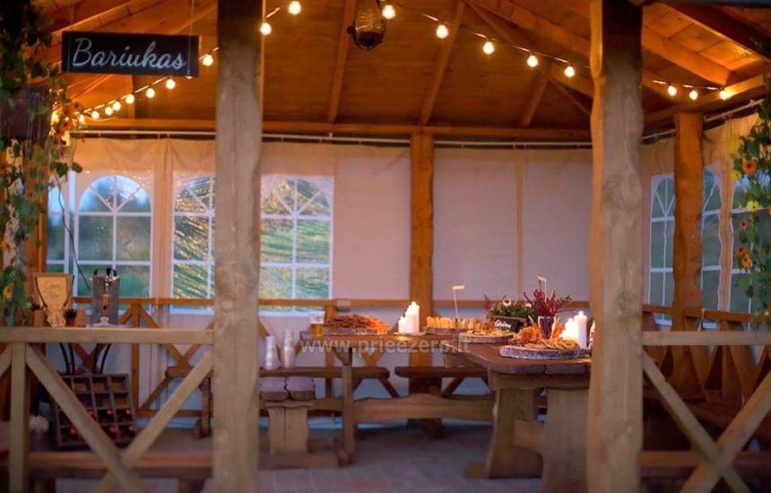 """Mini bar"" in a summerhouse"