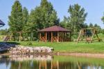 Gehöft Irvita in Plunge Bezirk mit Festsaal, Sauna - 2