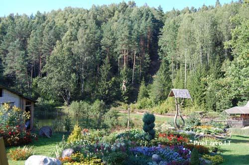 Homestead Azuolyne near Aukstadvaris - 12