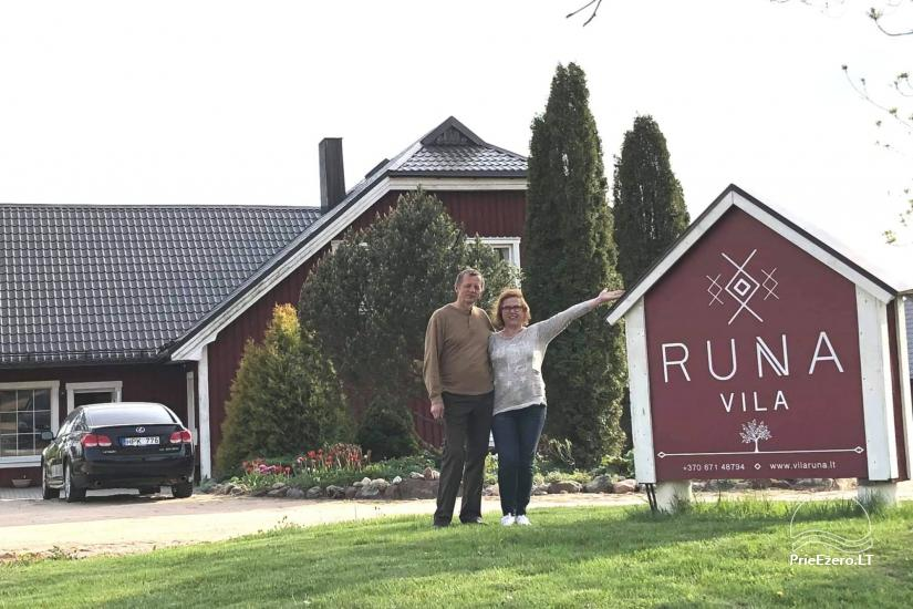 Vila RUNA - rest near the one of the prettiest lakes in Lithuania Plateliai - 2