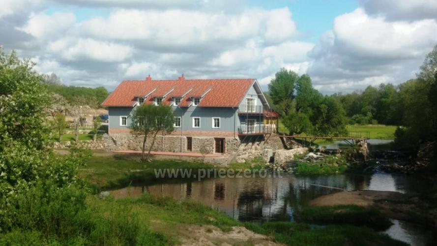 Landhaus mit Bankettsaal in der Nähe von Klaipeda Pagraumenės malūnas - 3