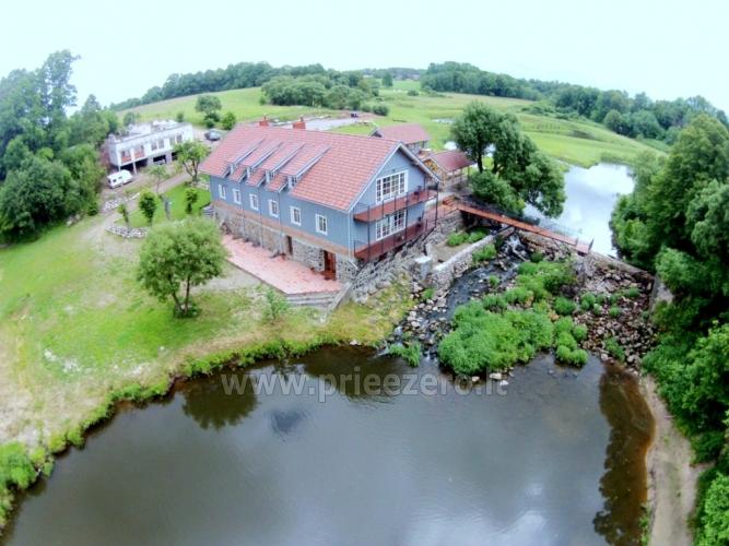 Landhaus mit Bankettsaal in der Nähe von Klaipeda Pagraumenės malūnas - 2