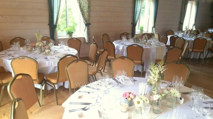 Homestead with banquet hall near Klaipeda Pagraumenės malūnas - 11