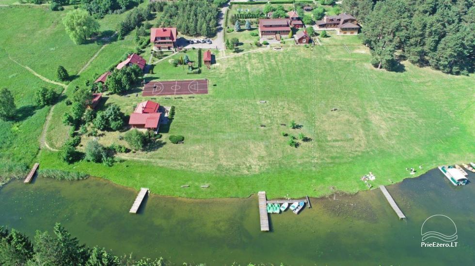 Усадьба на берегу озера в Тракайском районе Antano Bielinio sodyba - 4