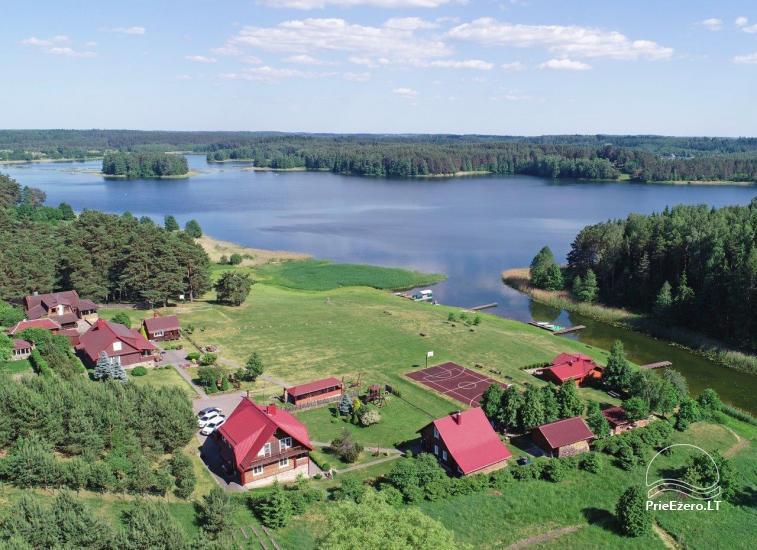 Urlaub in Trakai Region, Landhaus Antano Bielinio sodyba - 6