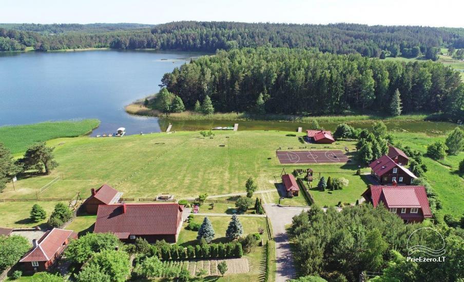 Urlaub in Trakai Region, Landhaus Antano Bielinio sodyba - 11