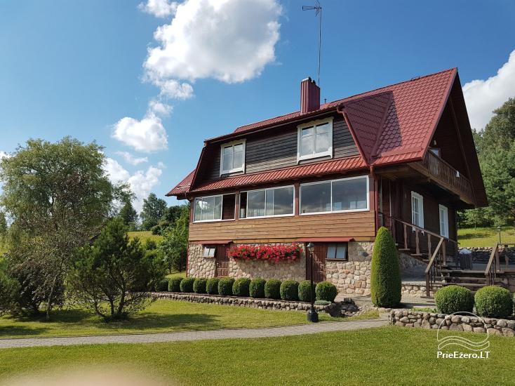 Urlaub in Trakai Region, Landhaus Antano Bielinio sodyba - 2