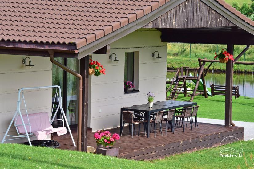 Villas and sauna for rent in Trakai region - Villa Trakai - 5
