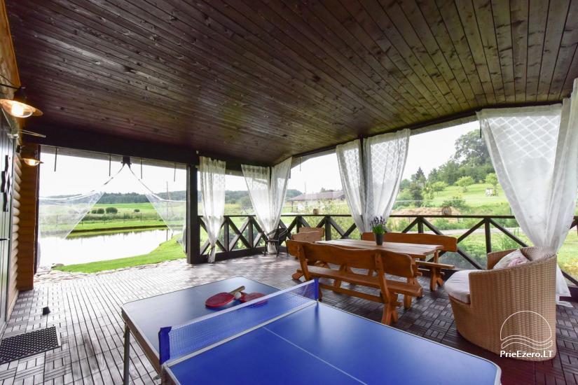 Villas and sauna for rent in Trakai region - Villa Trakai - 41