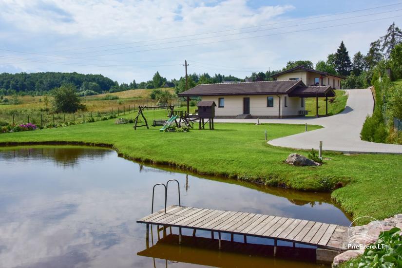 Villas and sauna for rent in Trakai region - Villa Trakai - 1