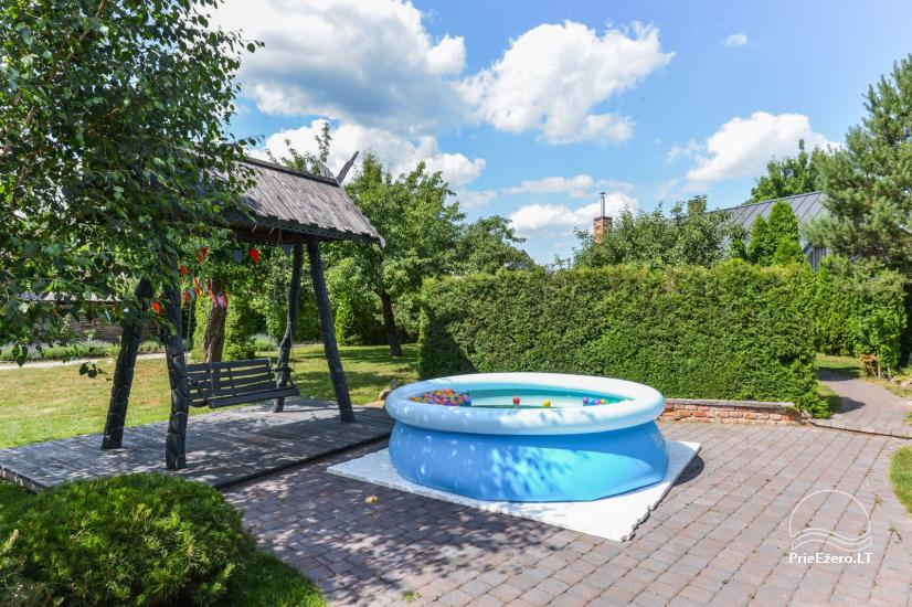 Bathhouse with swimming pool and hot tub 18 km from Kaunas old town - 30