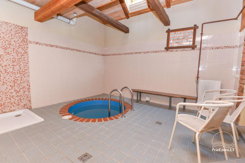 Bathhouse with swimming pool and hot tub 18 km from Kaunas old town - 17