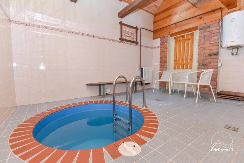 Bathhouse with swimming pool and hot tub 18 km from Kaunas old town - 18