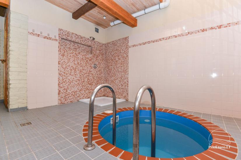 Bathhouse with swimming pool and hot tub 18 km from Kaunas old town - 19