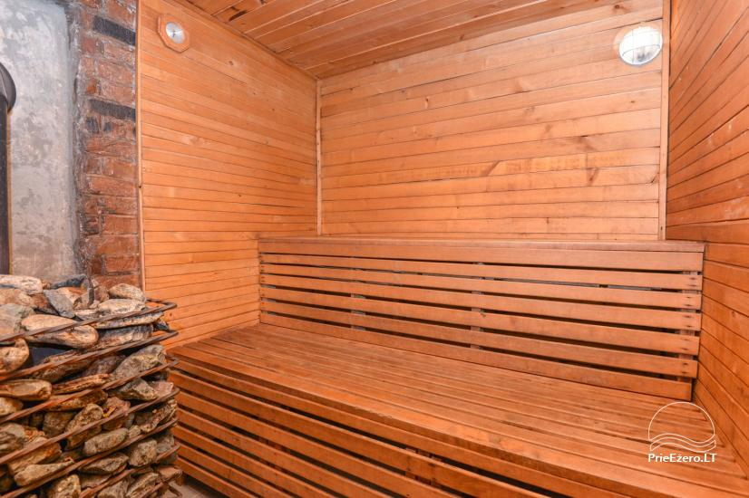 Bathhouse with swimming pool and hot tub 18 km from Kaunas old town - 20