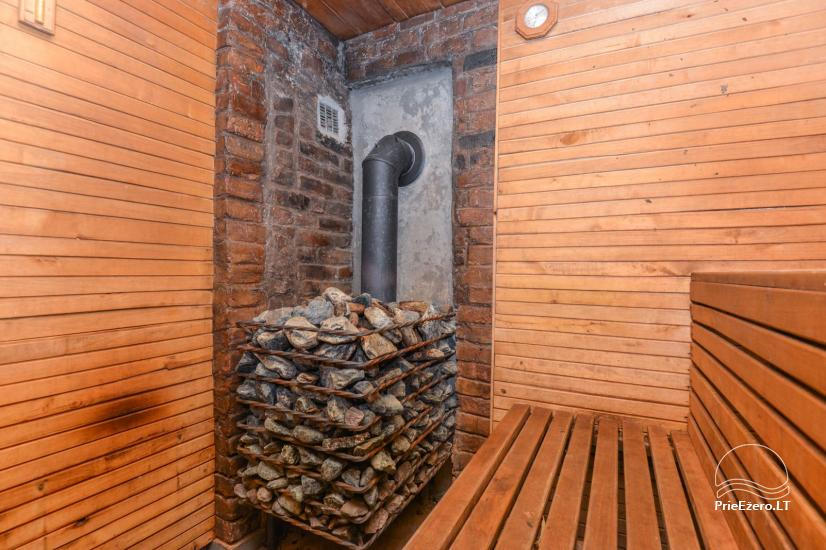 Bathhouse with swimming pool and hot tub 18 km from Kaunas old town - 21