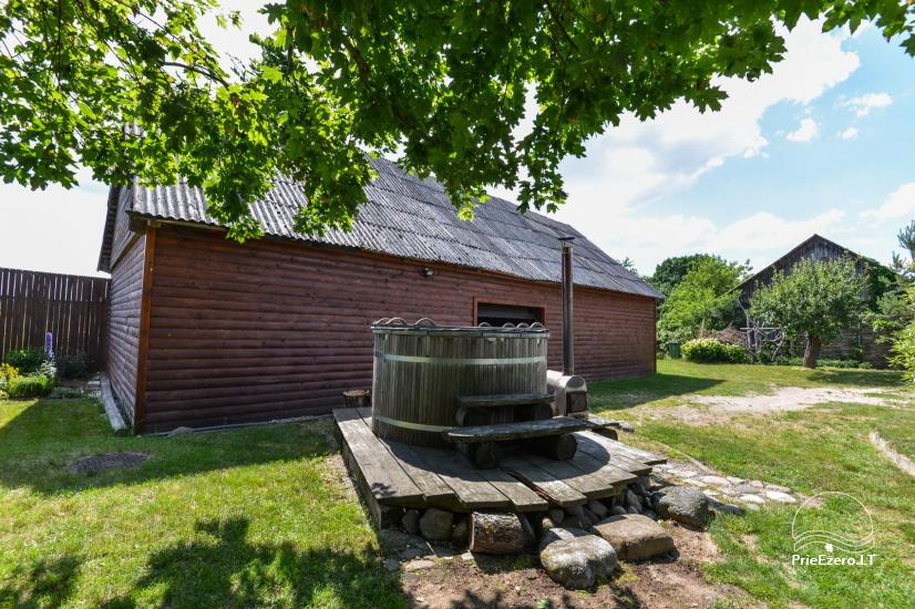 Bathhouse with swimming pool and hot tub 18 km from Kaunas old town - 7