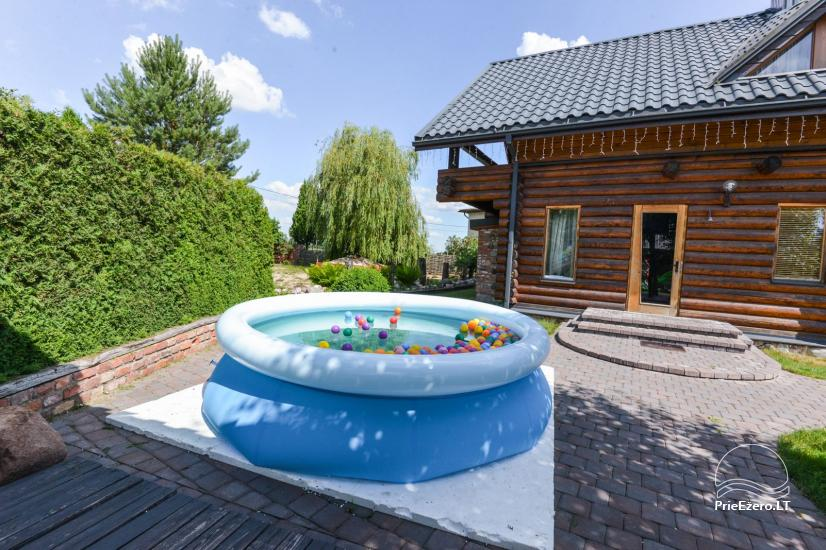 Bathhouse with swimming pool and hot tub 18 km from Kaunas old town - 31