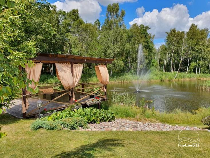 Land Gehöft Grapeldvaris: Badehaus, Festsaal, 70 Betten - 3