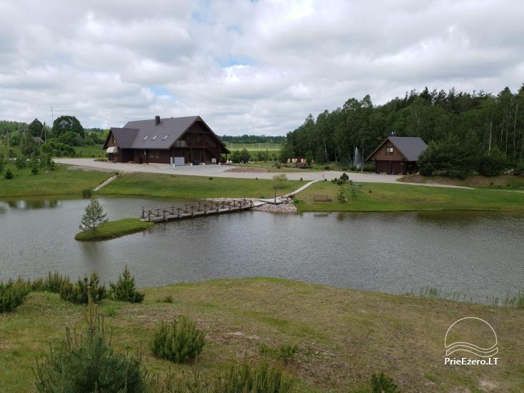 Wieś zagroda Grapeldvaris: łaźnia, sala, 70 łóżek - 8