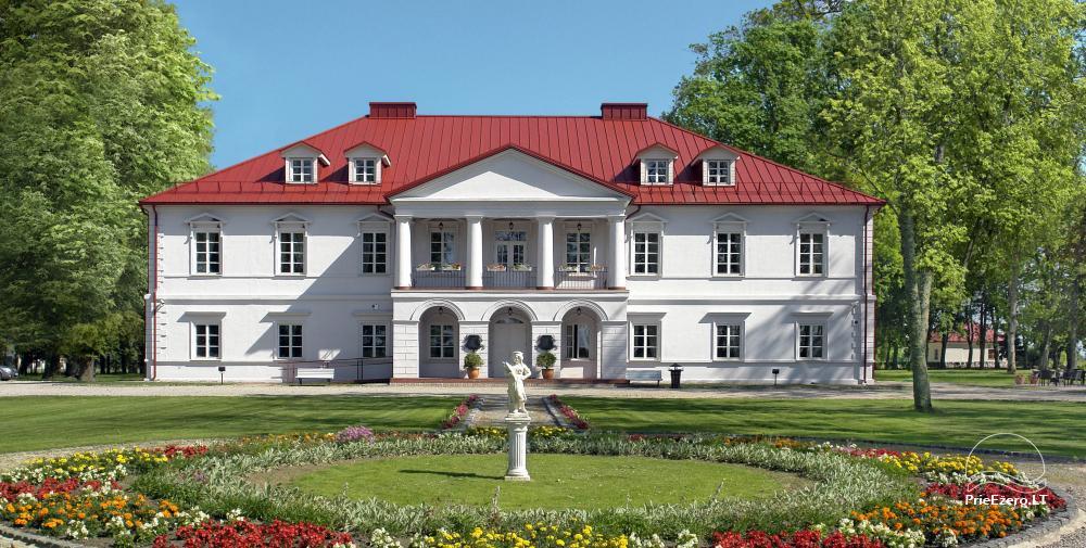 Гостиница Bistrampolio dvaras в Панявежском районе - 1