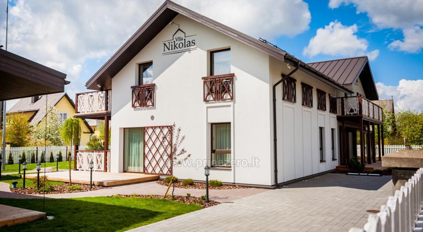 Отдых в Друскининкае - Апартаменты с кухнями  «Vila Nikolas» - 1