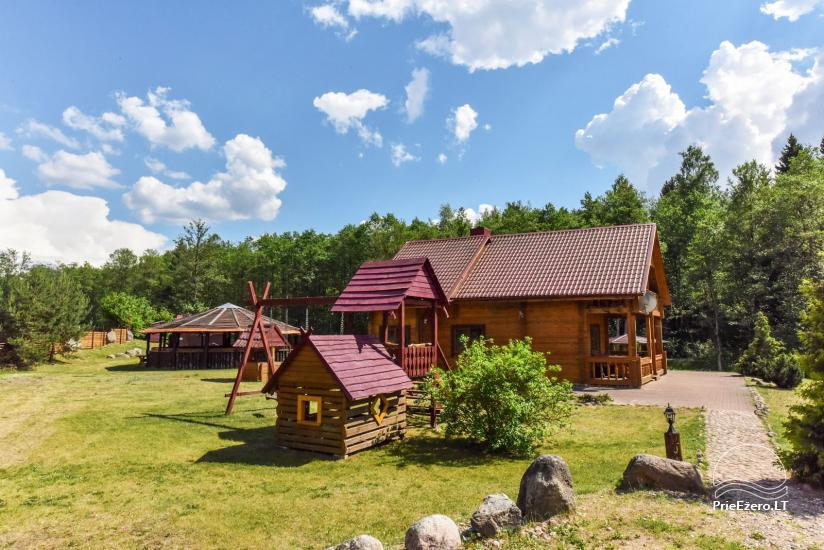 Countryside homestead and sauna in Trakai region, Lithuania - 3