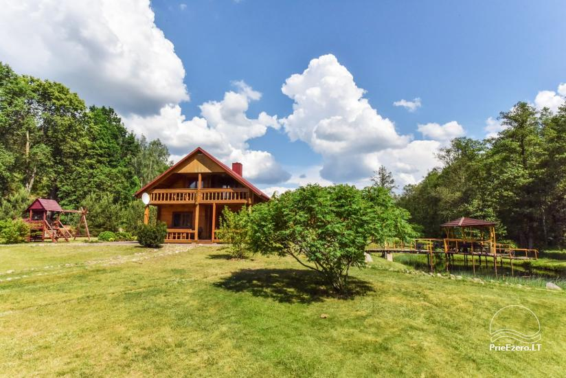 Countryside homestead and sauna in Trakai region, Lithuania - 4