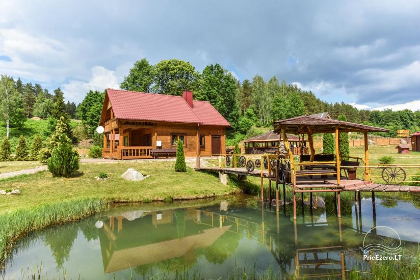 Countryside homestead and sauna in Trakai region, Lithuania - 1