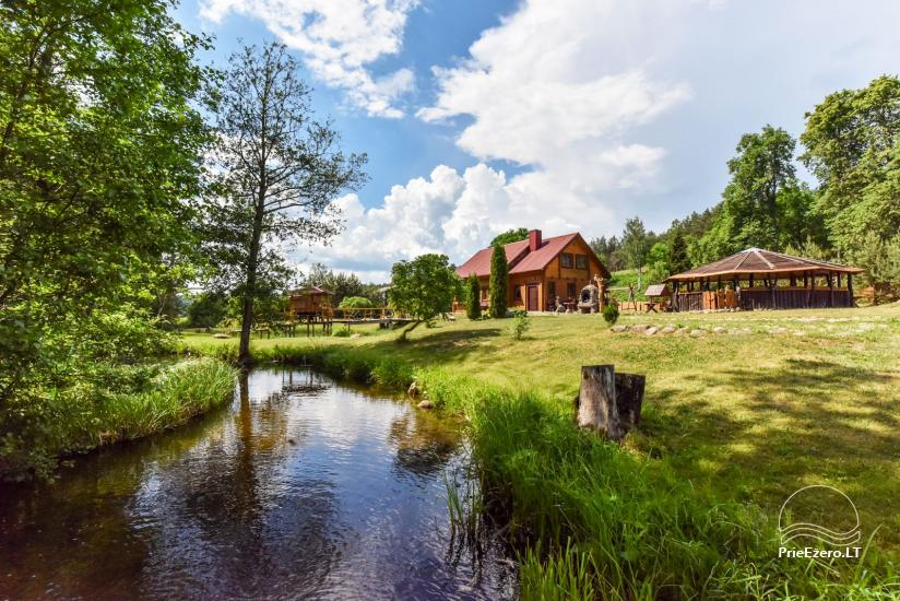 Countryside homestead and sauna in Trakai region, Lithuania - 7