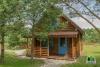 """Drewniany dom z sauna dla 6-8 osób """"Pusu giraite"""""""