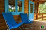 Drewniany dom z sauna dla 6 osób Pusu giraite - 5