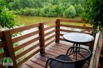 Drewniany dom z sauna dla 6 osób Pusu giraite - 10