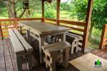 Drewniany dom z sauna dla 6 osób Pusu giraite - 11