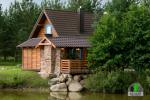 Drewniany dom z sauna dla 6 osób Pusu giraite - 4