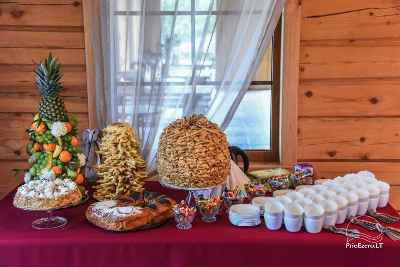 Countryside homestead for events and vacation Kaštonas at the lake in Ukmerge district - 33