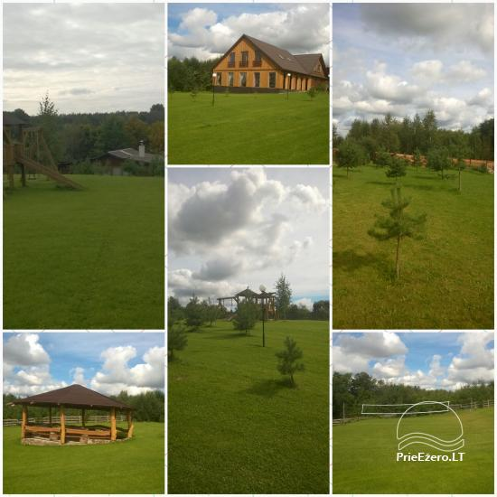 Countryside homestead for events and vacation Kaštonas at the lake in Ukmerge district - 4