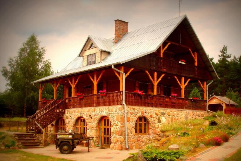 Unterhaltung und Erholungszentrum in der Nähe des Sees Seivis in Polen Šilainė - 1