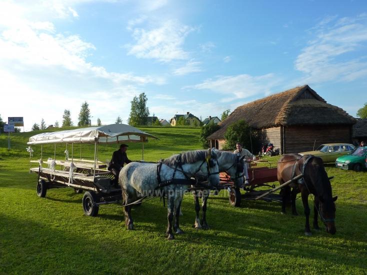 Unterhaltung und Erholungszentrum in der Nähe des Sees Seivis in Polen Šilainė - 4