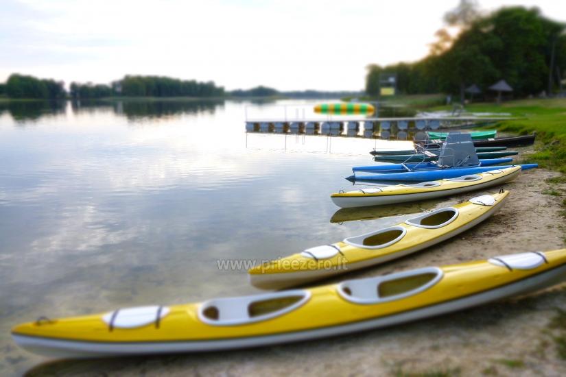 Unterhaltung und Erholungszentrum in der Nähe des Sees Seivis in Polen Šilainė - 6