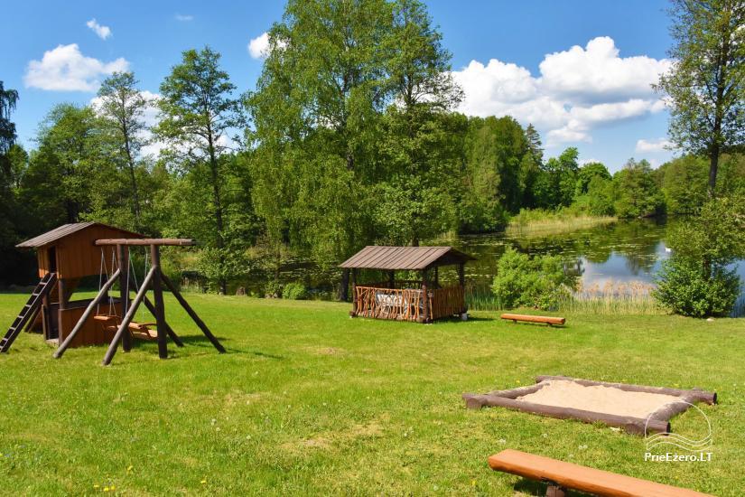 Усадьба Дринге на берегу водоема для отдыха семьи - 10