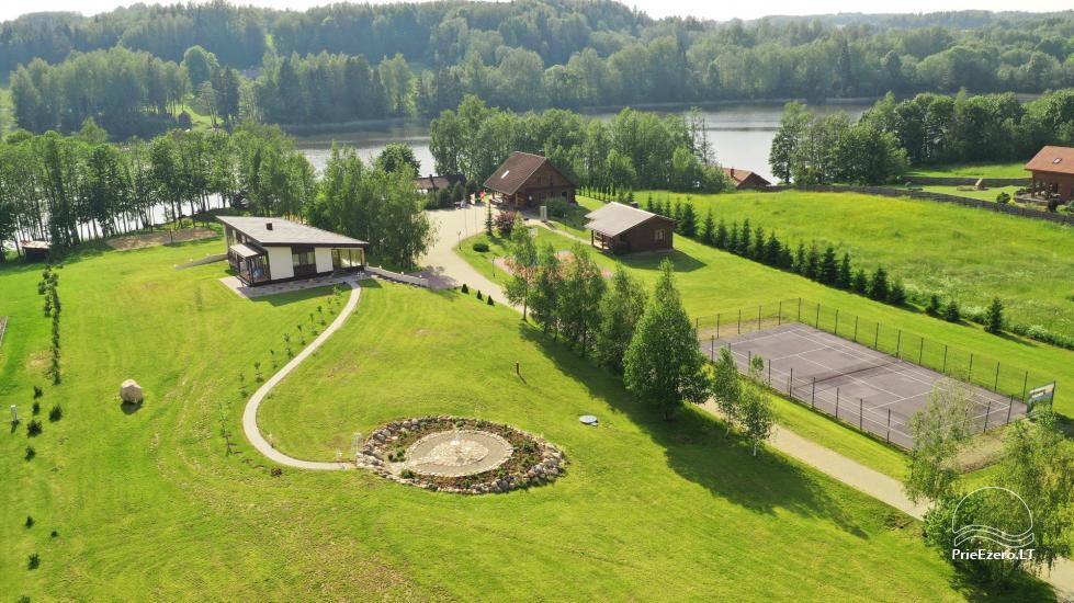 Countryside villa at the lake:kayaks, sauna, tennis court - 1
